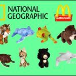 Peluches national geographic happy meal