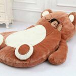 Peluches gigantes cama