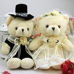 Peluches novios boda