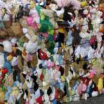 Peluches usados por mayor